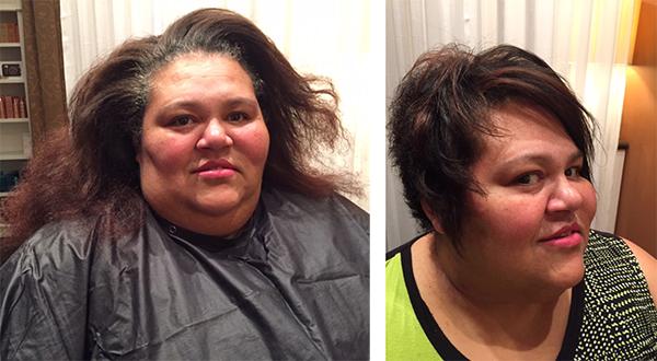 Haircut Before After Maryon Maass